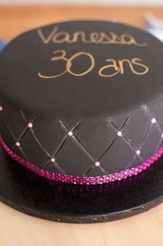 Decoration Gateau 30 Ans