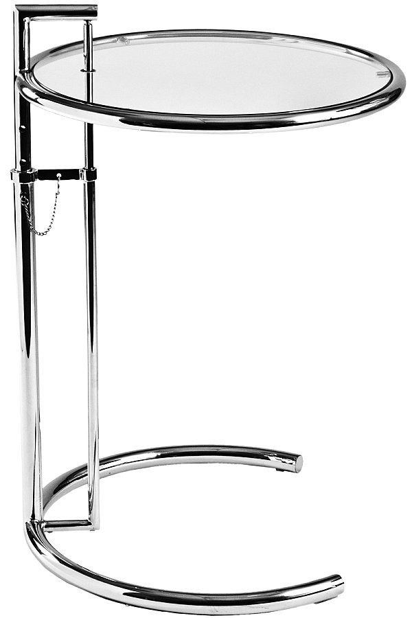 Eileen Gray Adjustable Table Eileen Gray Eileen Gray Table Grey Side Table