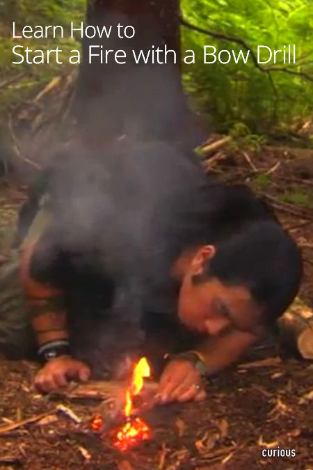 Learn How To Start A Fire Using Materials Found In Nature This