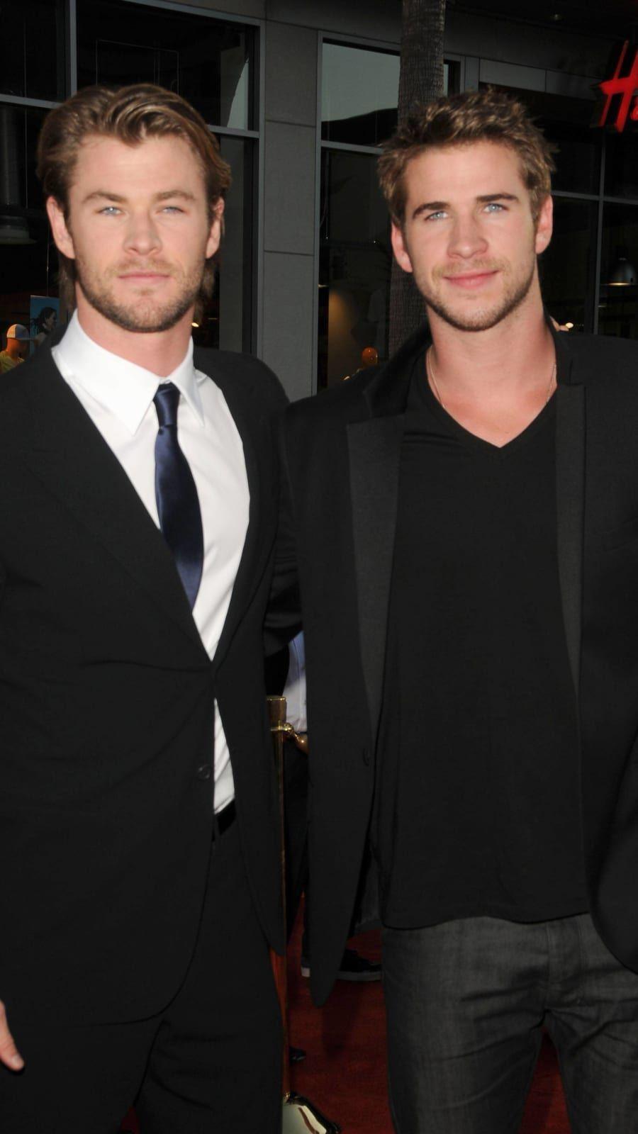 Liam Hemsworth Chris Hemsworth