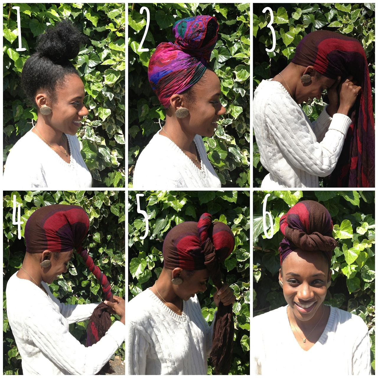 Steps 1 Pull Your Hair Into A High Bun About An Inch Or So From