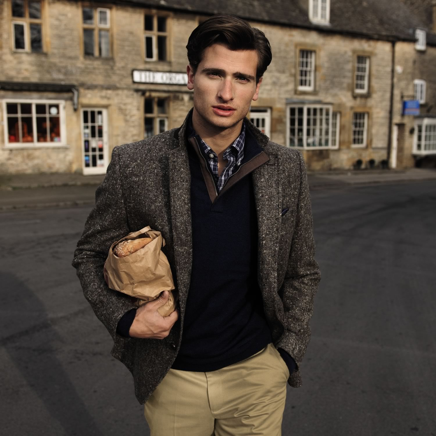 Authentic Donegal tweed classic fit jacket | Men's blazers ...