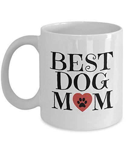 Best Dog Mom Mug White Funny Gift Cheer Boss