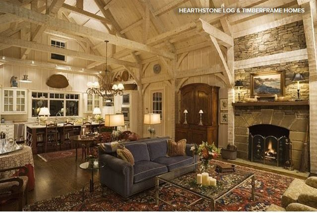 post and beam construction - Google Search   houses   Pinterest ...