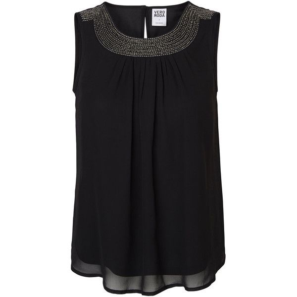 Fashion Style Top Quality Online Vero Moda Sequined Sleeveless Top Women Brown Clearance Pre Order Cheap Sale Outlet Store phRW6yti9