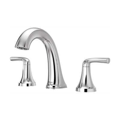 Pfister Ladera 8 In Widespread 2 Handle Bathroom Faucet In