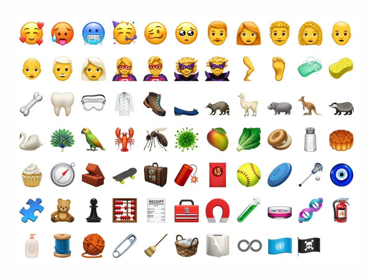Apple Product Users Will Soon Have More Than 70 New Emojis At Their Kabandageofrey8 Gmail Com Gmail Ios Emoji Apple Emojis New Emojis