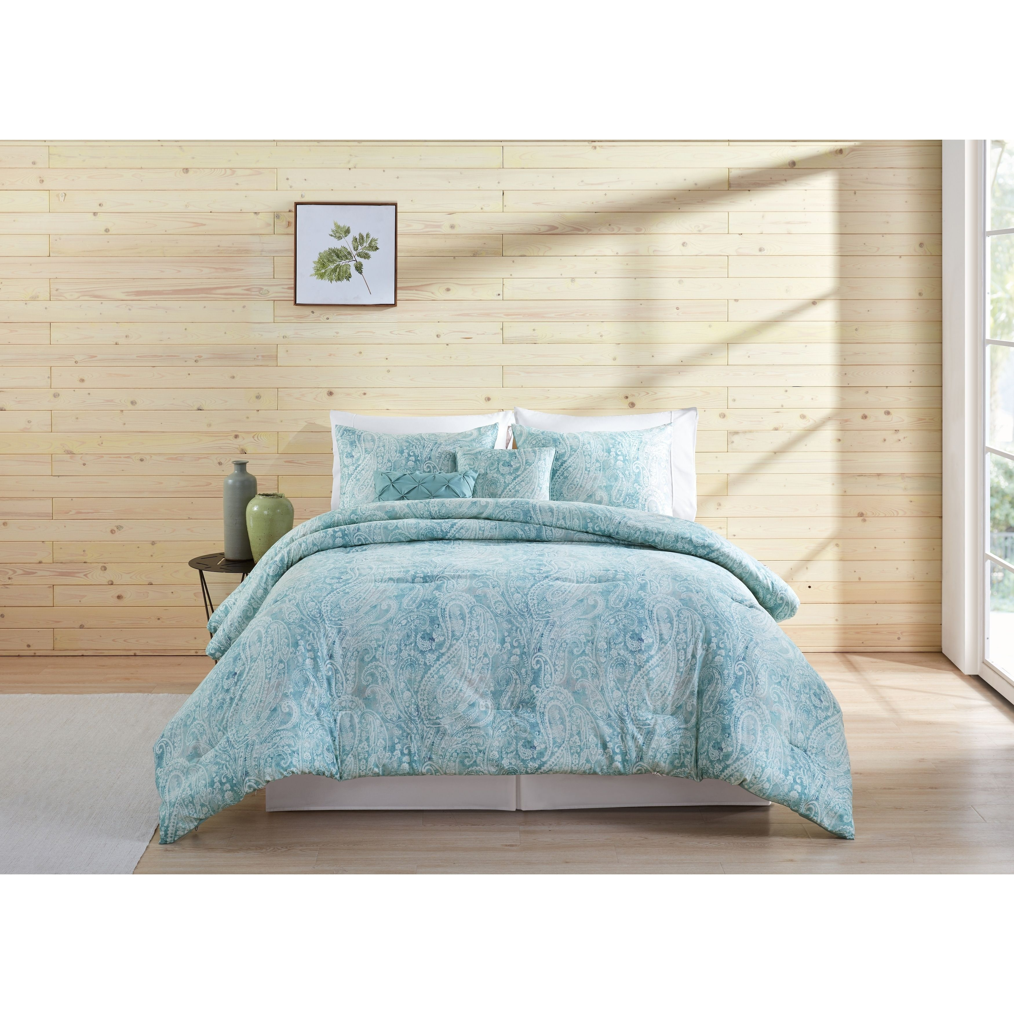 Vcny Home Keisha 5 Piece Comforter Set