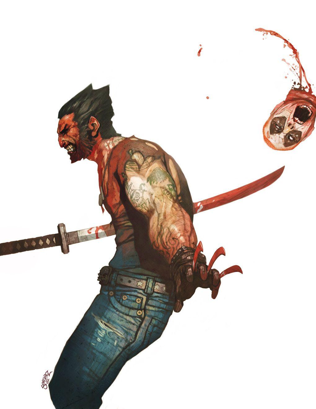ArtStation - Wolverine vs. Deadpool, Reynan Sanchez
