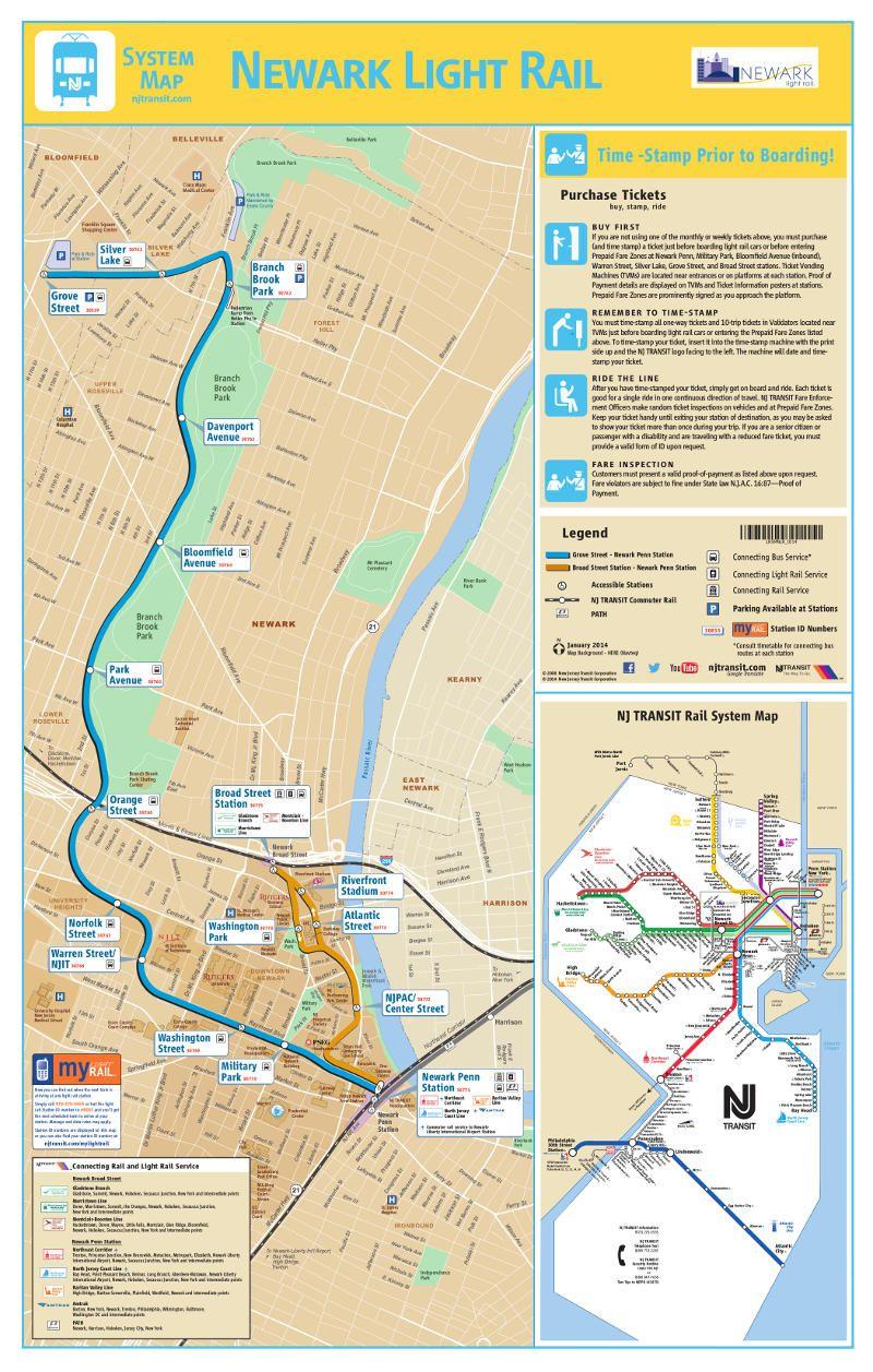 N Subway Map.Metro Of Newark Metros Undergrounds And Subways Maps Pinterest