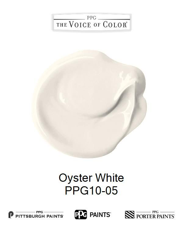 Oyster White Is A Part Of The Whites Collection By Ppg Voice Color