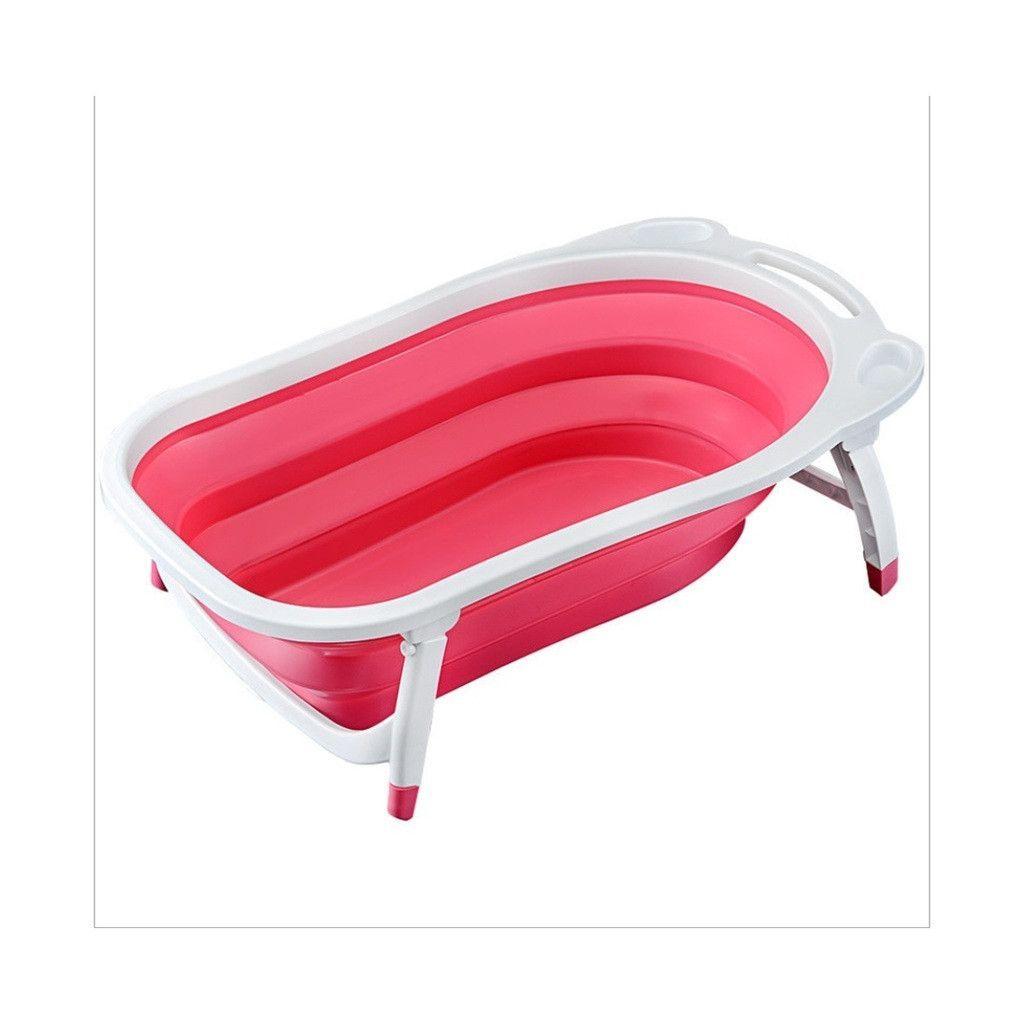 Baby Folding Bath Tub Pink | Baby Costas Ideas | Pinterest | Bath ...
