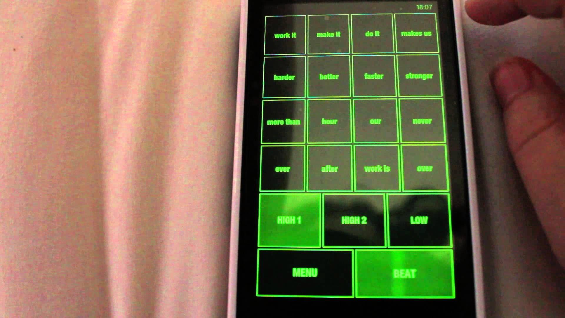iDaft App Harder Better Faster Stronger App, Hard