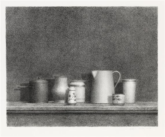 William Bailey, Still Life No. 5