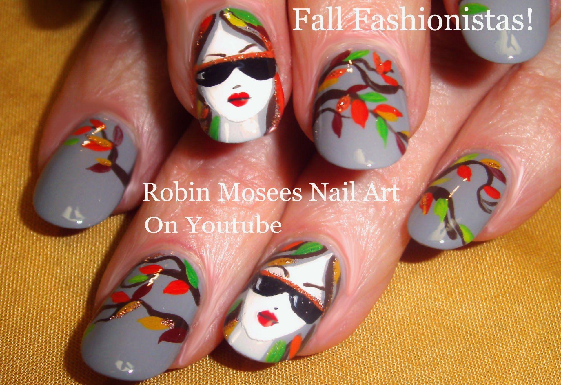 Fall Fashionistas! #nailart #nails #art #nail #design #elegant #graynails #fallnails #fallnailart #autumn #fall #fashionistas #fashion #cute #trends