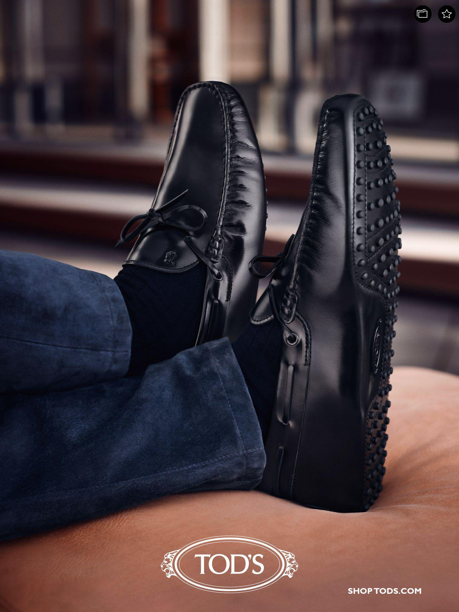 Tods Mens Shoes | Driving shoes men