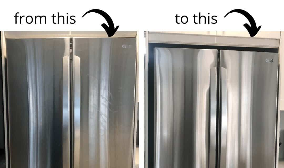 How To Clean Stainless Steel Appliances How To Stop Smudges From Reappearing Stainless Steel Cleaning Cleaning Stainless Steel Appliances Cleaning Stainless Steel Fridge