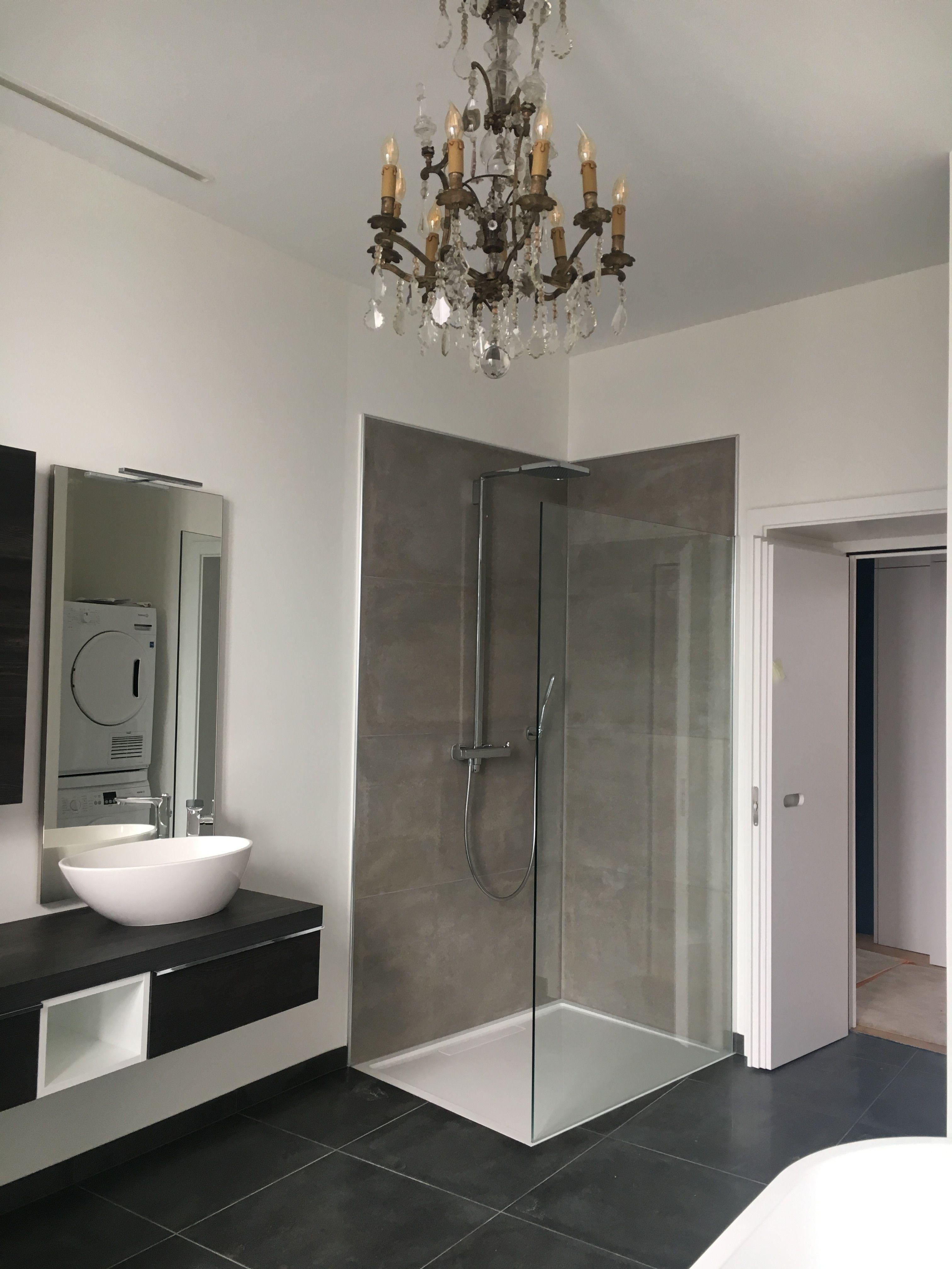 idée de décoration travaux et rénovation salle de bain grise et ...