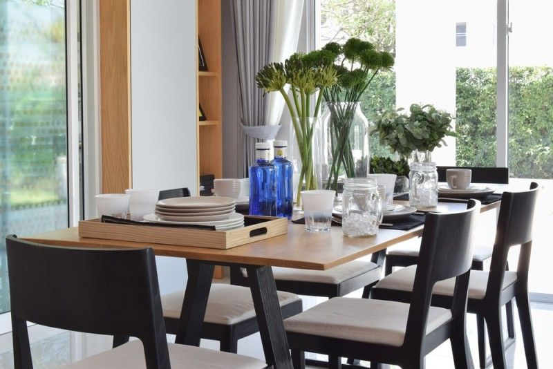 27 Modern Dining Table Setting Ideas Dining Table Contemporary Table Setting Modern Dining Table