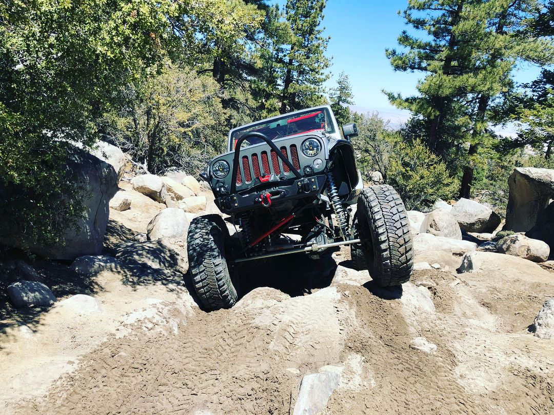 Stank Putting In Some Trail Time At Jeep Jamboree Big Bear Stankeye Tailgunner Jeep Wrangler Jku