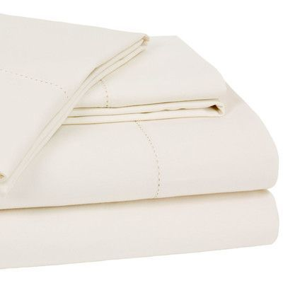 darby home co dearmond 400 thread count 100 cotton sheet set