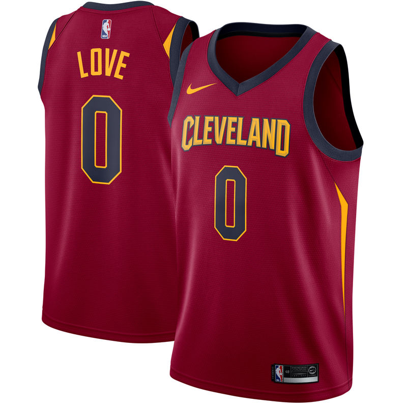 023a56646 Kevin Love Cleveland Cavaliers Nike Swingman Jersey Maroon - Icon Edition
