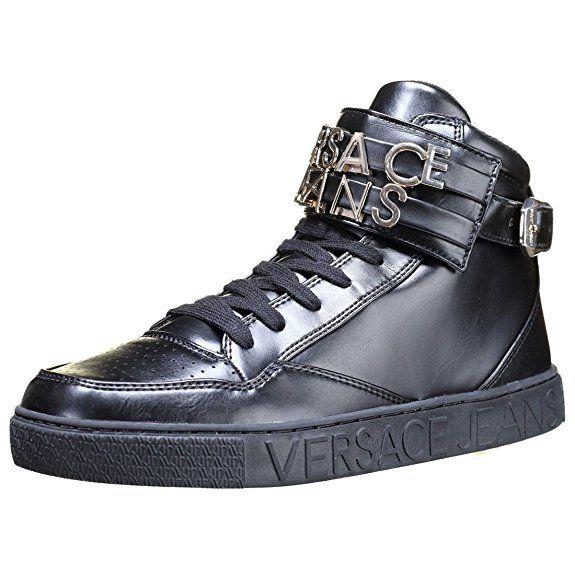 Versace Jeans Linea Sneaker Lettering Coating Black