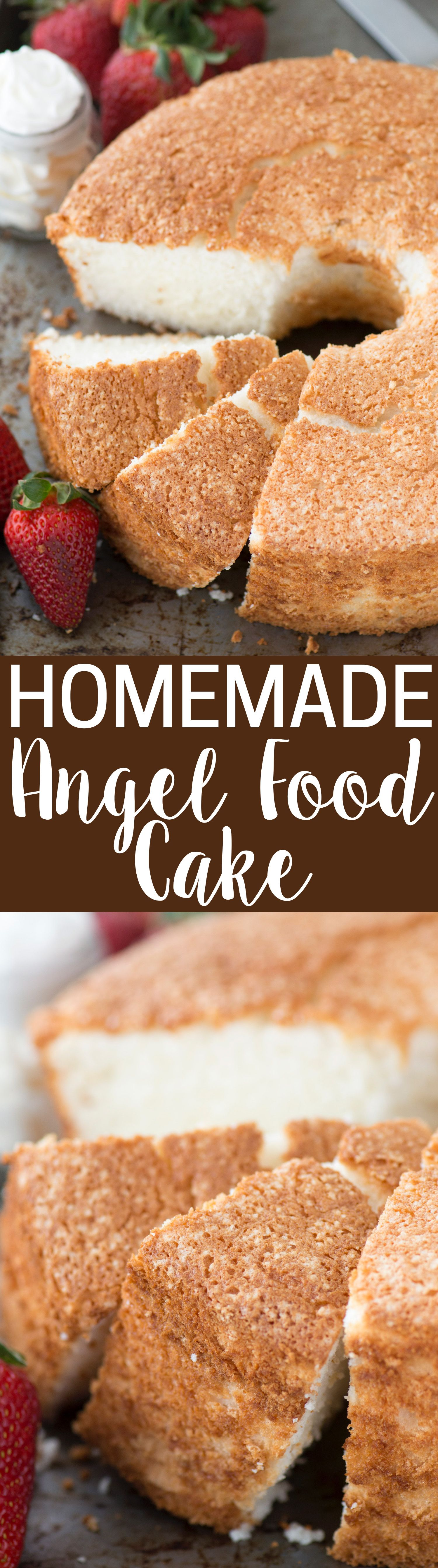 100 homemade angel food cake This is the recipe that everyone will