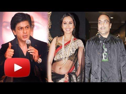 Shahrukh Khan,  Karan Johar Congratulate Rani Mukerji On Marraige !