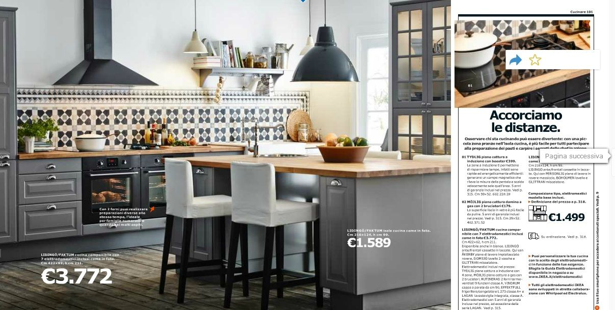 Catalogo Ikea Cucine 2014 | Grey ikea kitchen, Ikea kitchen ...