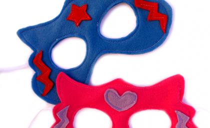 Tutorial: la maschera da supereroe o supereroina in esclusiva per bok