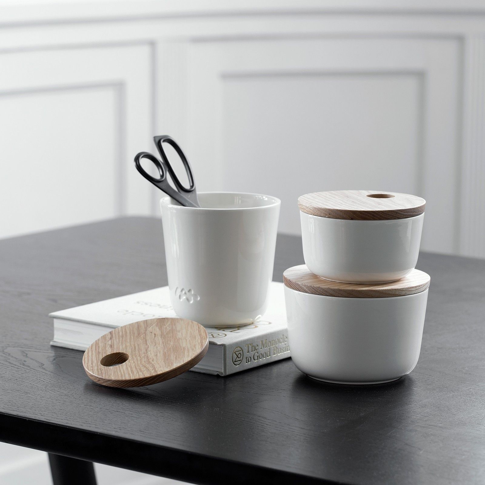 Unit Storage Jar Jar Storage Ceramic Tableware Decorative Storage