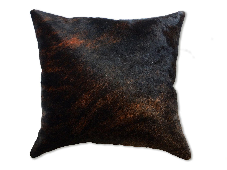 Cowhide pillow for home decor. Authentic cow hide pillow cases ...