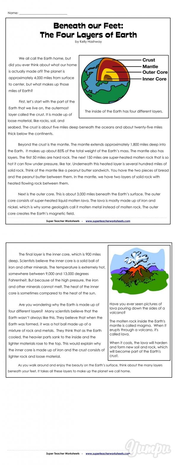 Teacher Timesaver Reading Comprehension With Science Integration Is Easy With Reading Comprehension Worksheets Comprehension Exercises Reading Comprehension