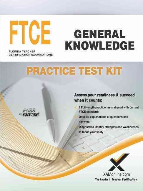Ftce General Knowledge Practice Test Kit Teacher Certification Exam