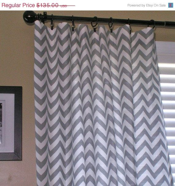 Gray And White Zig Zag Curtains New Kitchen Pinterest Sweet Gray And Anniversary Sale