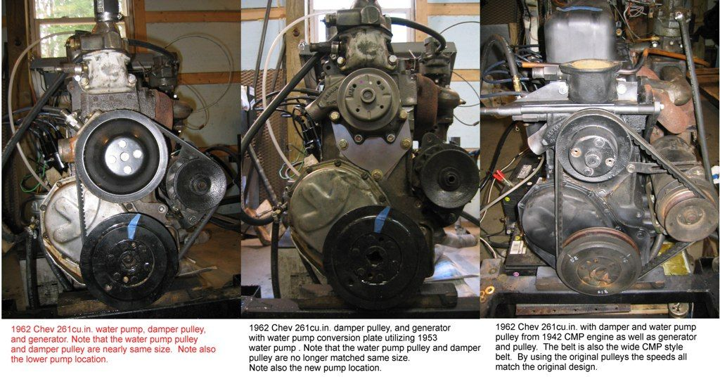 Chev 216 Vs 235 Mlu Forum Chevy Straight Six Engines