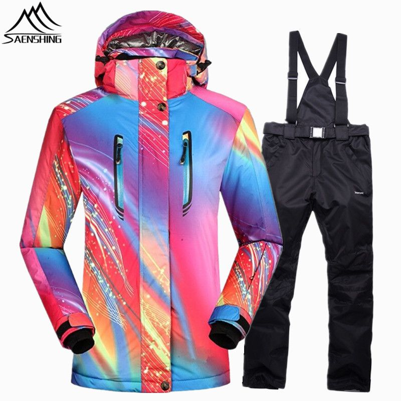 1d92fa4a8ec5 SAENSHING girls snow jacket winter suit Waterproof 10000 Super Warm ...
