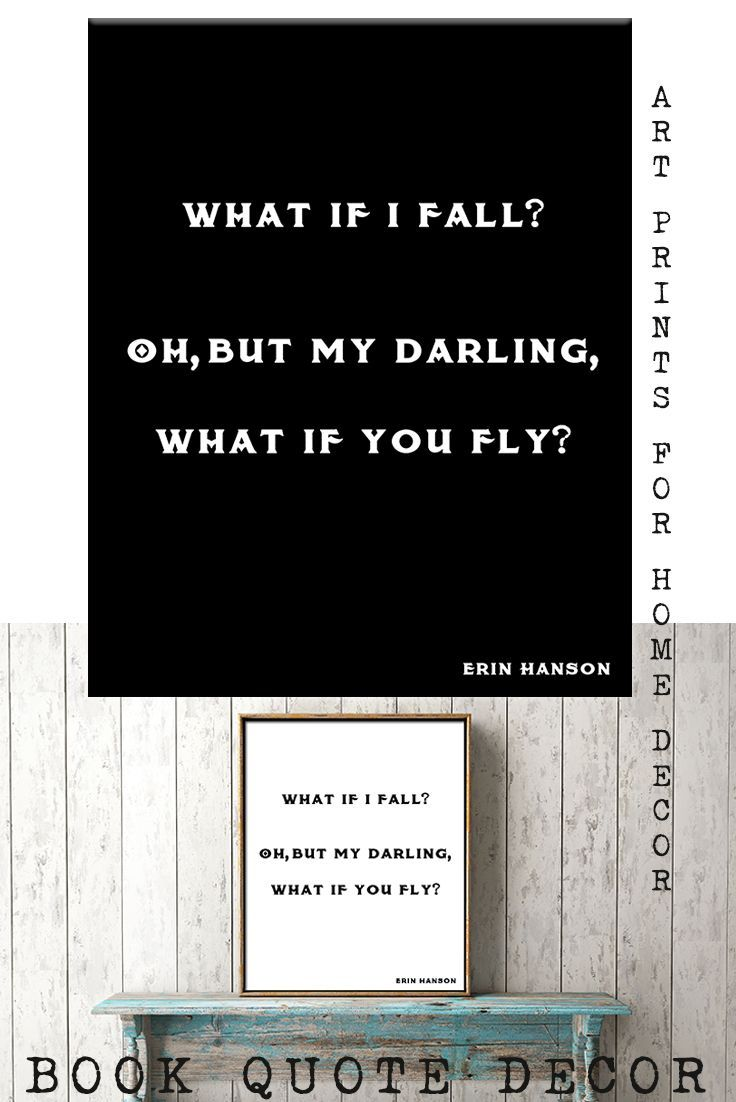 inspirational artwork for office. Motivational Poster, Nursery Art Wall Hanging, Inspirational Prints For  Office, What If I Fall Erin Hanson Print, Moving Gift Artwork Office