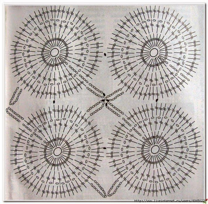 Patrón de Cojín con fino diseño tejido con ganchillo | cojines ...