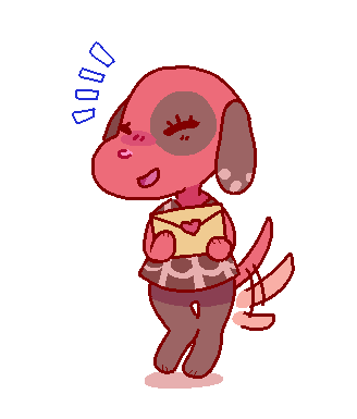 Cherry My Favourite Acnl Dog As Well As Mac 3 Animal Crossing