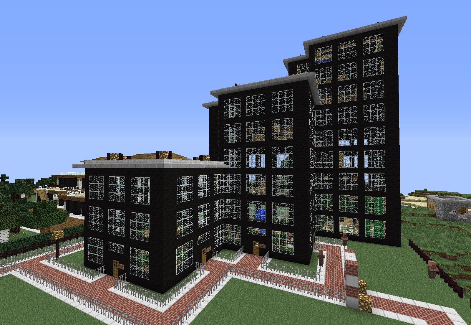 A Small Modern Office Building minecraft building ideas download