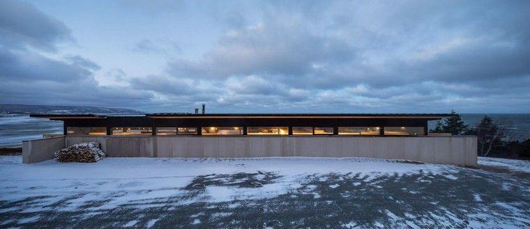Maison au Canada avec vue époustouflante par Omar Gandhi Architectes ...
