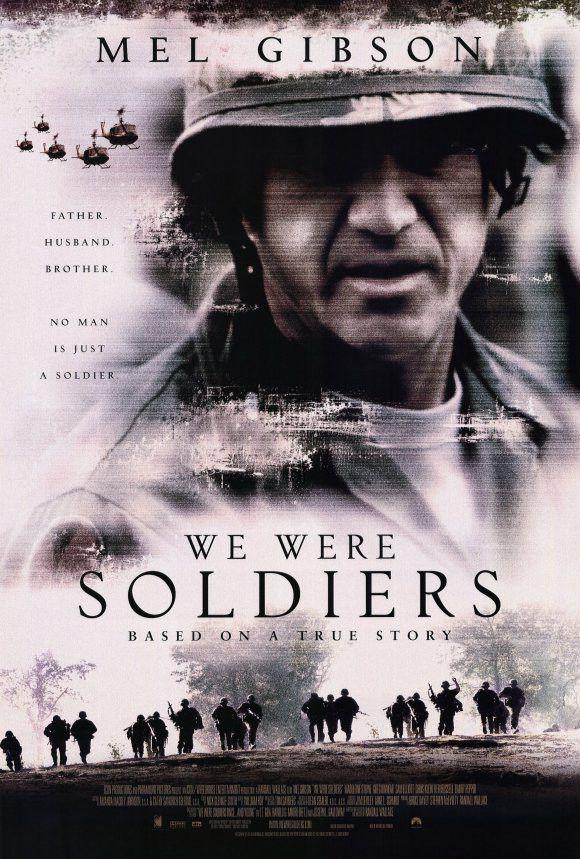 We Were Soldiers 27x40 Movie Poster 2002 War Movies Mel Gibson Free Movies Online
