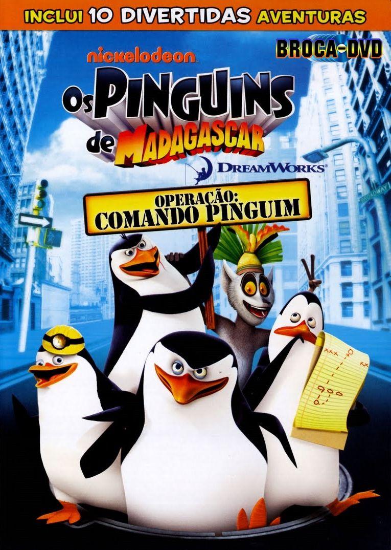 Os Pinguins De Madagascar Missao Comando Pinguin Pinguins De Madagascar Pinguins Dreamworks
