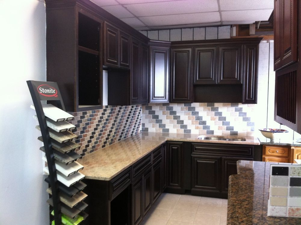 Best Showroom Espresso Kitchen Cabinets For Sale Long Island 640 x 480