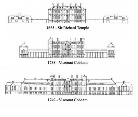 Stowe House changes in design