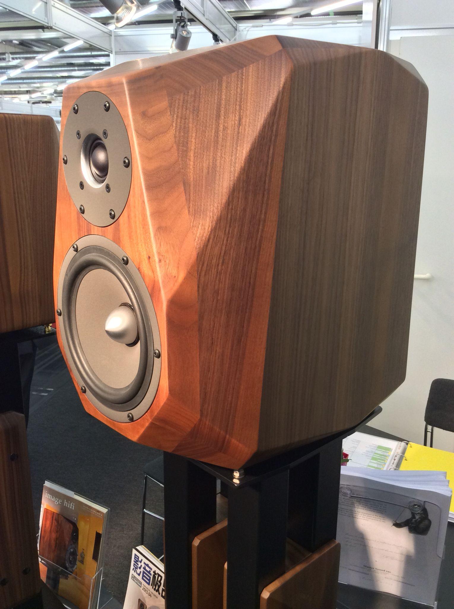 Small Speakers Monitor Home Bookshelf Speaker Box Design
