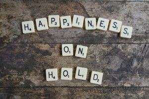Happiness-on-Hold:  I'll be happy when I'm pregnant vs What can I do to feel better right now?