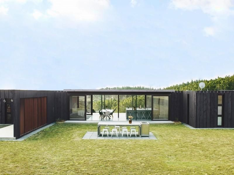 Bathroomware Designed For New Zealand Homes: Container House, Muriwai, Rodney
